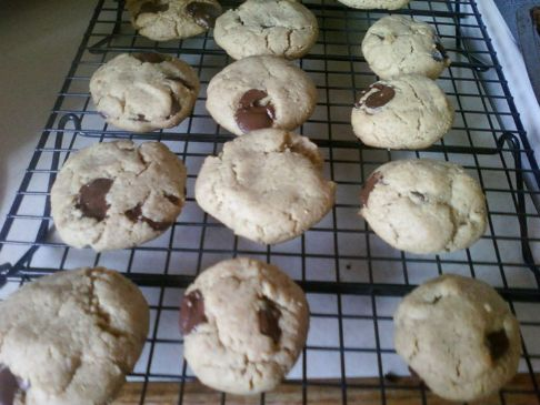 Clean Chocolate Chip Cookies