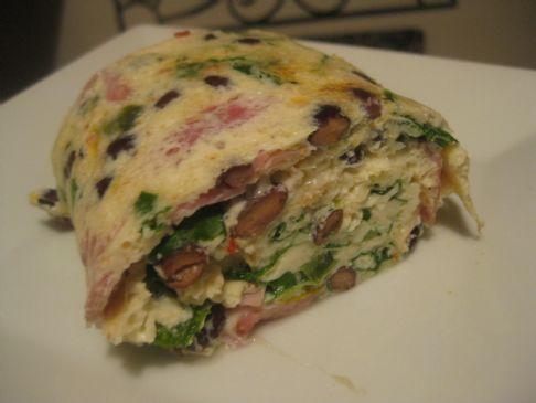 Egg White Roll Up